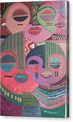 Psyche Canvas Print by Leon Salako