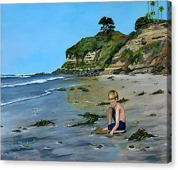 Reflecting Canvas Print by Lisa Reinhardt