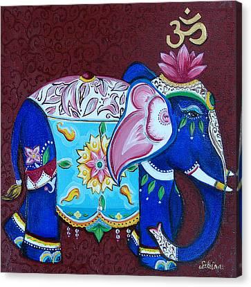Sandra Kali Canvas Print by Sabina Espinet
