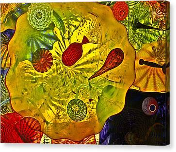 Sea Of Glass Canvas Print by James Mancini Heath
