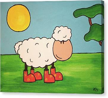 Sheeep Canvas Print by Sheep McTavish