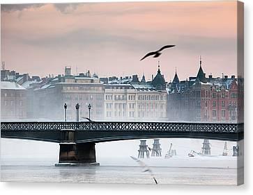 Skeppsholmsbron, Stockholm Canvas Print