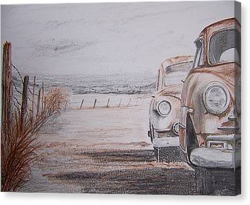 Slow Demise Canvas Print by Terence John Cleary
