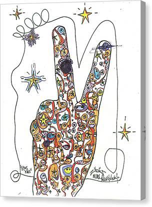 The Universe Canvas Print - Star Kids by Robert Wolverton Jr
