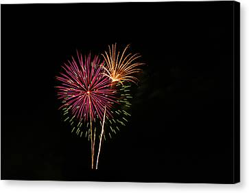 Canvas Print featuring the photograph Starburst by Larry Bishop