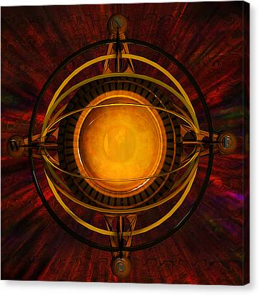 Steampunk Navigator Canvas Print