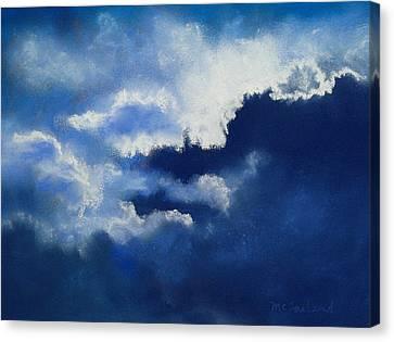 Stormy Sky Canvas Print by Lorraine McFarland