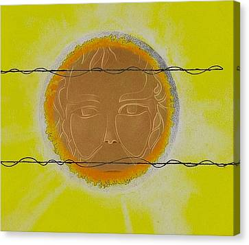 Sun Rays Canvas Print - Summer by Andrew Morse