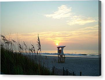 Sunrise Over Wrightsville Beach Canvas Print