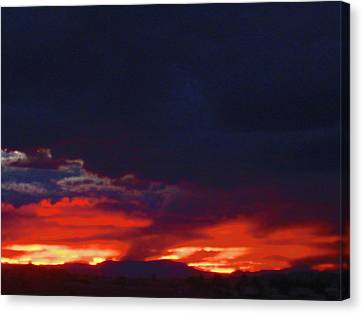 Sunset 2 Canvas Print by Tammy Sutherland