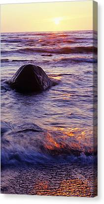 Sunset Lights Canvas Print