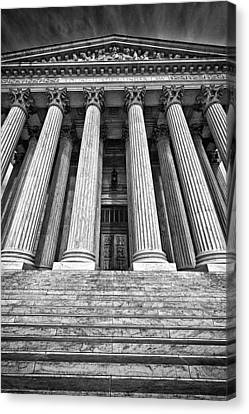 Supreme Court Building 10 Canvas Print by Val Black Russian Tourchin