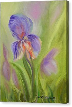 Tennessee Iris Two Canvas Print by Carol Berning