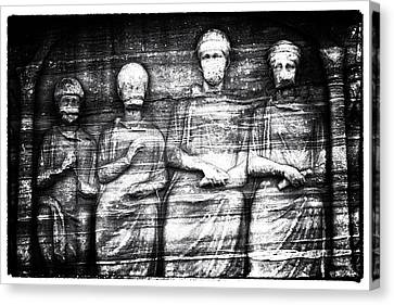 Sultanhmet Canvas Print - The Ancients by John Rizzuto