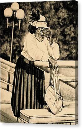 The Church Lady Canvas Print by Curtis James