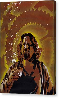 Culture Canvas Print - The Dude by Tai Taeoalii