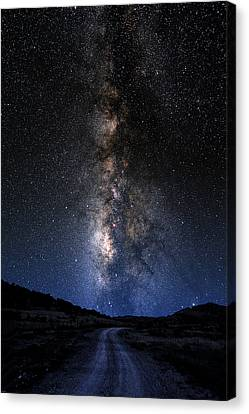 The Milky Road Canvas Print