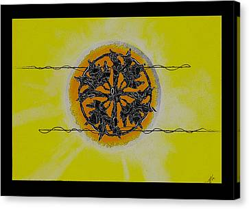 Sun Rays Canvas Print - The Source by Andrew Morse