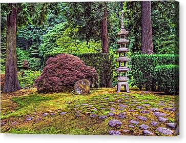 This Is Oregon State No.23 - Sea Of Rocks Canvas Print by Paul W Sharpe Aka Wizard of Wonders
