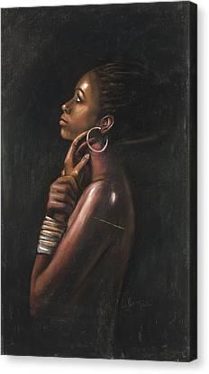 Tia Canvas Print by L Cooper