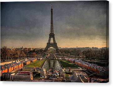 French Culture Canvas Print - Tour Eiffel by Philippe Saire - Photography