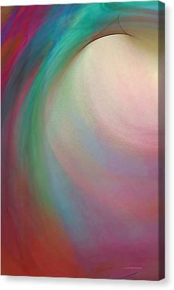 Tropical Motion Canvas Print