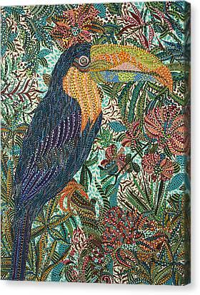 Tropican Canvas Print by Erika Pochybova