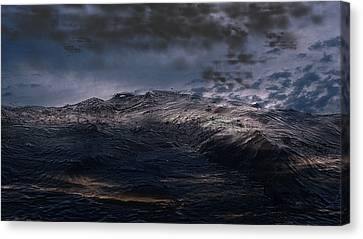 Troubled Waters Canvas Print