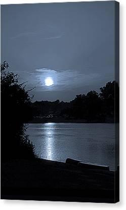 Twilight Canvas Print by Sue Stefanowicz