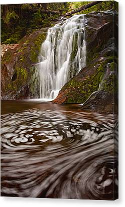 Waterfall Canyon Canvas Print by Evgeni Dinev