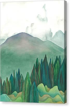 Wet Waterton Canvas Print by Anne Havard
