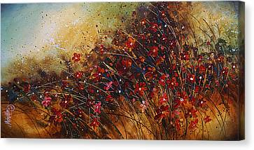 Wild Canvas Print by Michael Lang