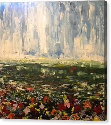 Wildflowers Canvas Print by Carmen Kolcsar