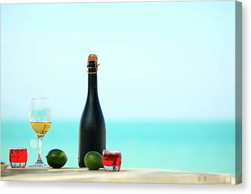 Wine  Canvas Print by MotHaiBaPhoto Prints