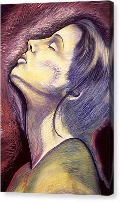 Worshiper Canvas Print