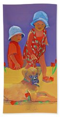The Boxer Puppy Hand Towel