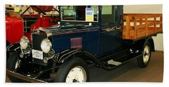 1930 Chevrolet Stake Bed Truck Bath Towel