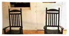 American Porch Bath Towel by Desiree Paquette