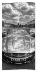 Aston Martin Dbs Bath Towel by Yhun Suarez