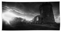 Bradgate Park At Dusk Hand Towel