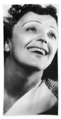 Edith Piaf Hand Towel