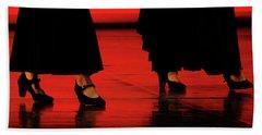 Hand Towel featuring the photograph Flamenco 2 by Pedro Cardona