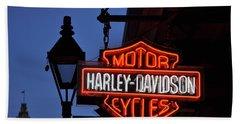 Harley Davidson New Orleans Bath Towel