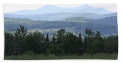 Jay Peak From Irasburg Bath Towel by Donna Walsh