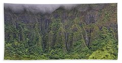 Ko'olau Waterfalls Hand Towel by Dan McManus