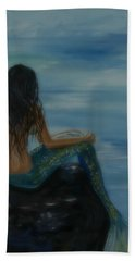 Mermaid Mist Hand Towel
