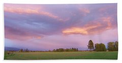 Montana Sunsets 3 Bath Towel
