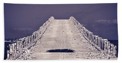 Overseas Railroad II Bath Towel