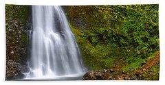 Spring Cascade Bath Towel by Andrea Hazel Ihlefeld