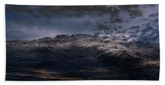 Troubled Waters Bath Towel by James Barnes